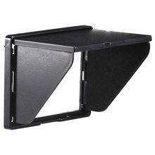 Newyi lcd 후드/sun shade 및 3.0 인치 스크린이있는 카메라/캠코더 뷰 파인더 용 하드 스크린 커버 보호대