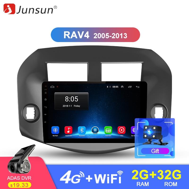Junsun Android 8 1 Car GPS Radio Player for Toyota RAV4 RAV 4 2007 2008 2009