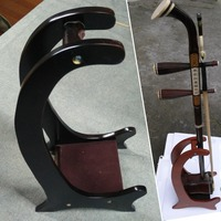 wooden rack erhu, stents, stent musical shows, erhu fixed stand, base, erhu wooden shelves, paste leather, wholesale