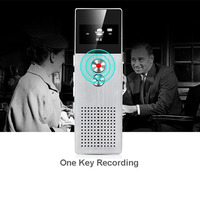 C6 8GB Professional Audio Recorder MP3 Player Metal Voice Tracker Portable Business Digital Voice Recorder Telephone Recording