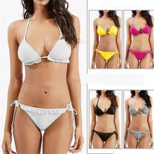 2016 new style sexy hammock assorted colors lace-up Bathing suit women bikini Sports bra Bikini brazilian Bikinis set