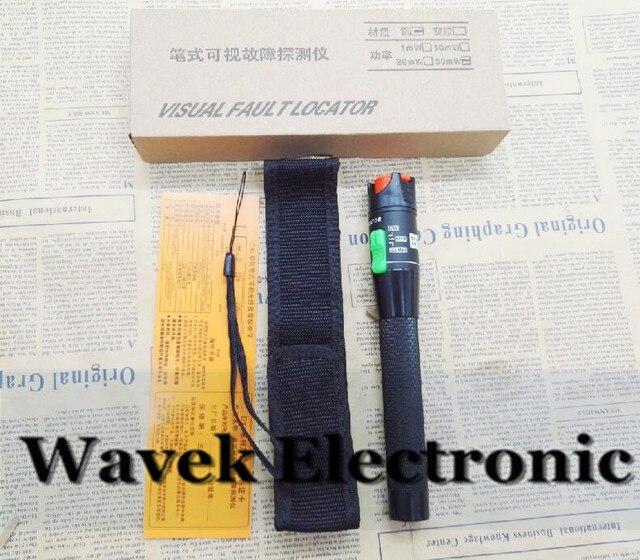 משלוח חינם 30 MW תקלה חזותית Locator סיבים אופטיים חזותי תקלת Finder 30 mw VFL סיבים אופטיים כבל Tester לייזר 650nm 30 KM