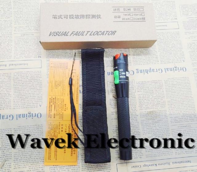 Kostenloser Versand 30 MW Visual Fault Locator Fiber Optic Visual Fault Finder 30 mw VFL Optical Fiber Kabel Tester Laser 650nm 30 KM