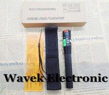 Localizador Visual de fallos de fibra óptica, localizador de fallos Visual de 30MW VFL, probador de Cable de fibra óptica láser de 650nm y 30KM, Envío Gratis