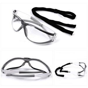 Image 5 - 3M 11394 السلامة نظارات نظارات مكافحة الضباب Antisand يندبروف مكافحة الغبار مقاومة شفافة نظارات واقية العمل نظارات