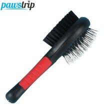 1PC Double Faced Pet Dog Comb Long Hair Brush Plastic Handle Puppy Cat Massage