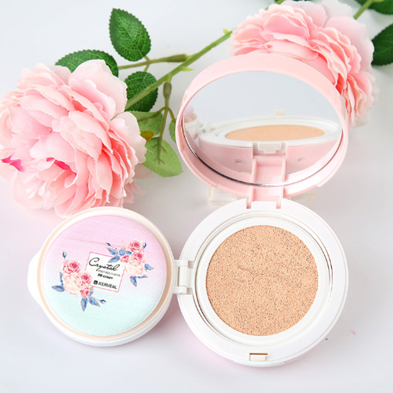 A'ERVEAL Brand Makeup Water Transparent Air Cushion BB Cream Concealer Moisturizing Oil Control Cosmetic Cream