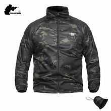 New Camouflage Tactics Seal Skin Jacket Summer Outdoor Sunscreen Waterproof Comabt Jacket Coat Men Brand Outwear S-4XL AYPLY22