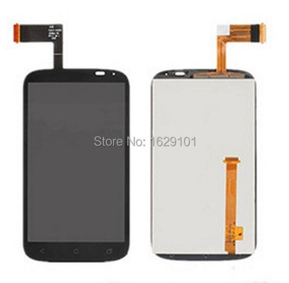 Completa LCD tela de toque digitador lente de vidro reparação peças de reposição assembléia para HTC Desire X T328e