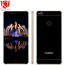 "Herkunft ZTE Nubia Z11 Handy 5,5 ""6 GB RAM 64 GB ROM Löwenmaul 820 Quad Core Randlos 16MP NFC Fingerabdruck Handy"