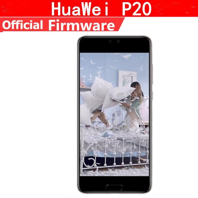 DHL livraison rapide HuaWei P20 4G LTE téléphone Mobile Android 8.1 5.8