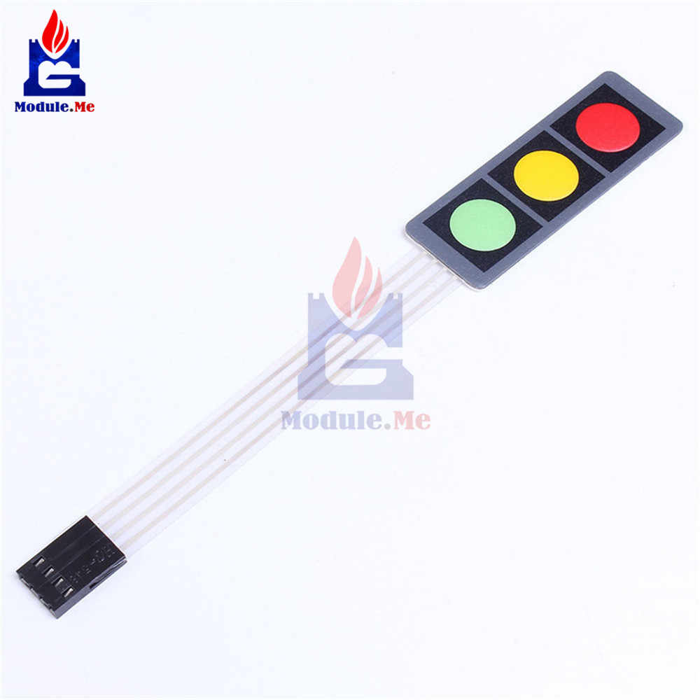 Detail Feedback Questions About Rgb Red Green Yellow Matrix Array 3 Light Switch Question Membrane Keypad 1x3 Keys Keyboard 13