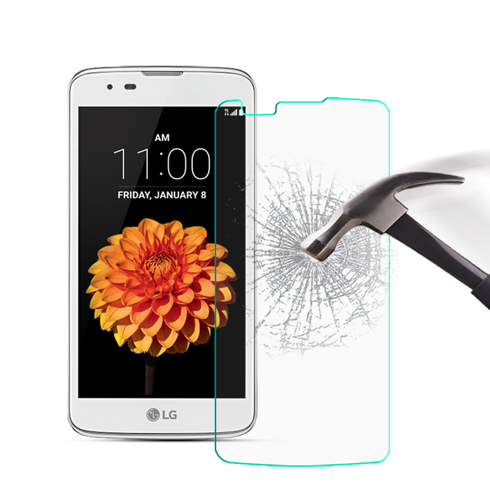 2pcs Screen Protector For <font><b>LG</b></font> <font><b>K7</b></font> Ultra-Thin HD Tempered <font><b>Glass</b></font> For <font><b>Glass</b></font> <font><b>LG</b></font> <font><b>K7</b></font> / Tribute 5 LS675 / X210 <font><b>X210DS</b></font> 5.0 inch Cover image