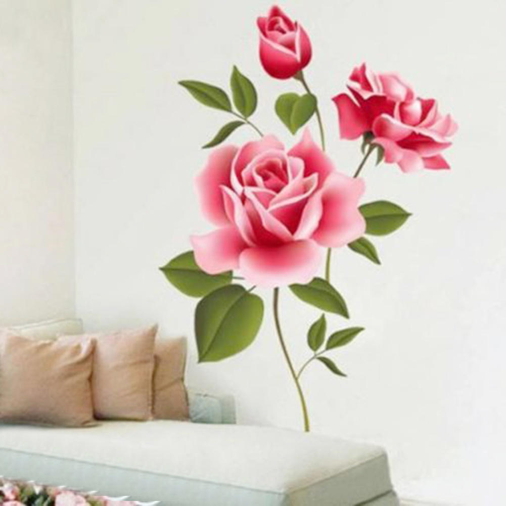 Big Flower Wallpaper Reviews Online Shopping Big Flower