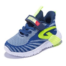 SKHEK Boys Girls Shoes Baby Breathable Anti-slip Kids Sneakers Running Sport Children A3672