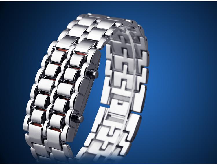Aidis youth sports watches waterproof electronic second generation binary LED digital men's watch alloy wrist strap watch 31
