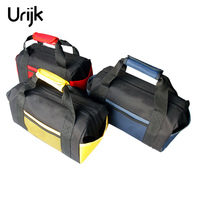 Urijk Double Thickened Waterproof Handheld Tool Bag Multi Function Tool Kit Repair Set Oxford Cloth Wear