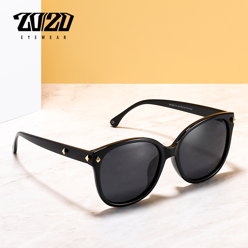 20/20 Brand Design Luxury Cat Eye Polarized Sunglas