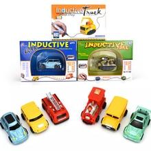 1 Piece Fangle Magic Toy Truck Inductive Car Giochi Di Prestigio Trucos Magia Excavator Tank Construction