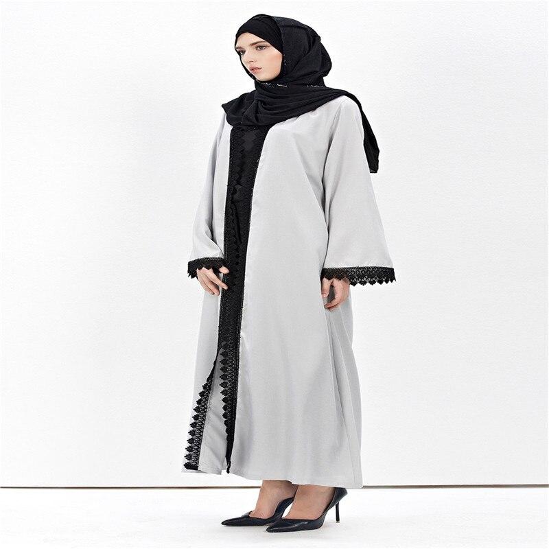 Nouveau Femmes Musulmanes De Mode Vintage Jilbab Cardigan Robe Amira - Vêtements nationaux - Photo 4