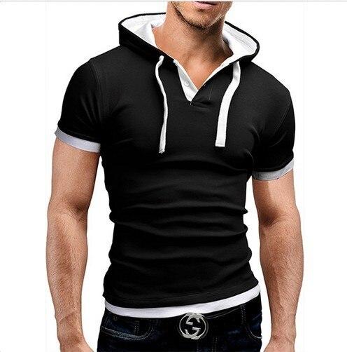 T-Shirt Homme Capuche 4