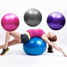 85 cm colorido deportes Yoga bolas Bola Pilates gimnasio equilibrio Bola de  PVC ejercicio Pilates entrenamiento 2eca497e3f42