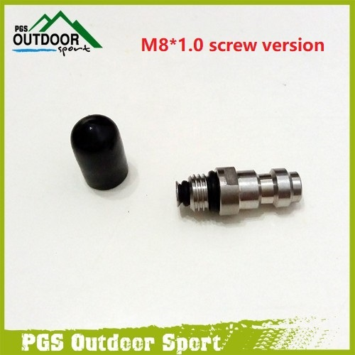 Paintball PCP Stainless Steel 8mm Fill Nipple One Way Foster 1 / - Disparos - foto 6