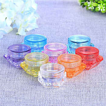 100Pcs 3g/5g 3ml/5ml Empty Sample Vial Jar Pot Container Fit Makeup Cosmetic Face Cream Lips Balms Pigment Nail Art Glitter bead - DISCOUNT ITEM  0% OFF All Category