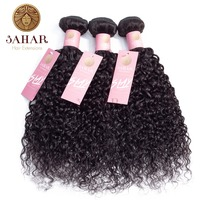 Sahara Brazilian Non Remy Hair Extension Water Wave 100% Human Hair Weave Bundles 1/3/4 Pcs Human Hair Weave Weft Natural Color