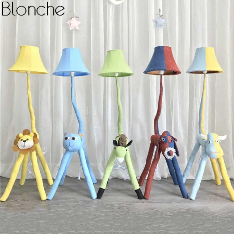 Modern Cartoon Animal Floor Lamp for Children\'s Kids Room ...