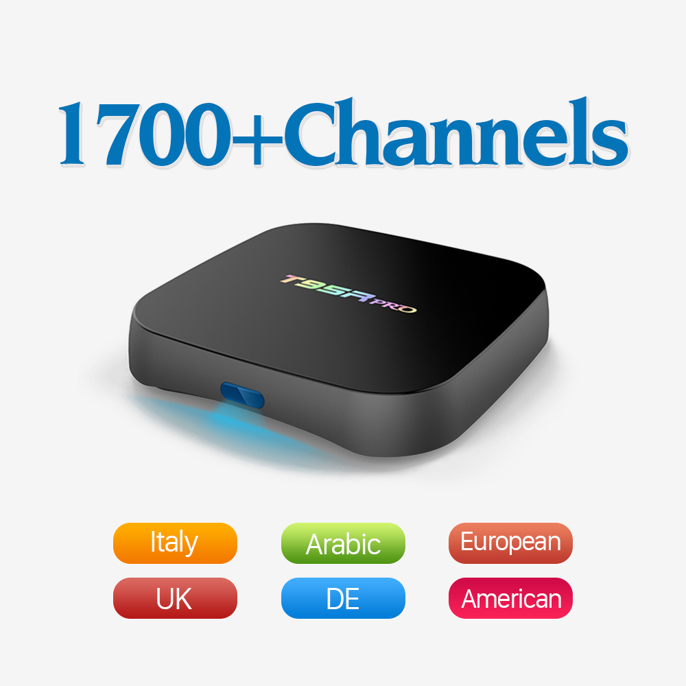 HD Free IPTV Account Europe Arabic with 2/8GB Android 6.0 Smart TV Box Amlogic S912 4K 2.4GHz WiFi Media Player Set Top Box gotit cs918 android 4 4 tv box with 1year arabic royal iptv europe africa latino american iptv rk3128 media player smart tv box