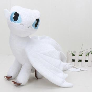 55cm 22cm 33cm 40cm Train Dragon Toothless Dragon Soft Stuffed Animal Plush Toys Juguetes de Peluches Bebe 8
