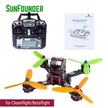 SunFounder SFX190 190mm FPV RC Drone Quadcopter Kit 20A ESC 1300mAh 4S Li-Po battery Cleanflight or Betaflight Flysky FS-i6X