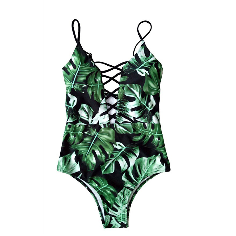 <font><b>Sexy</b></font> <font><b>Women</b></font> <font><b>Swimwear</b></font> <font><b>One</b></font> <font><b>Piece</b></font> <font><b>Swimsuit</b></font> <font><b>Swimwear</b></font> Floral Monokini Push Up Bikini Beachwear Swim Bathing Suit <font><b>2018</b></font> maillot de bain image