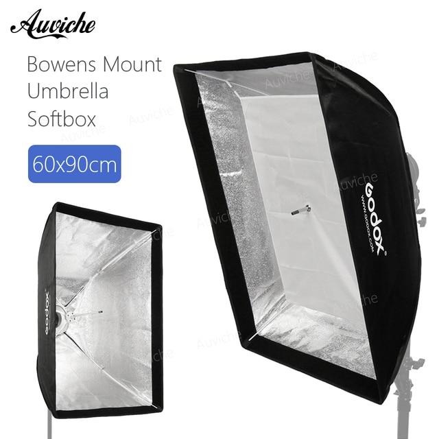 "Godox 24""x 35"" 60x90cm Bowens Mount Umbrella Softbox soft box with Bowens Mount for Bowens Mount Studio Flash Light"