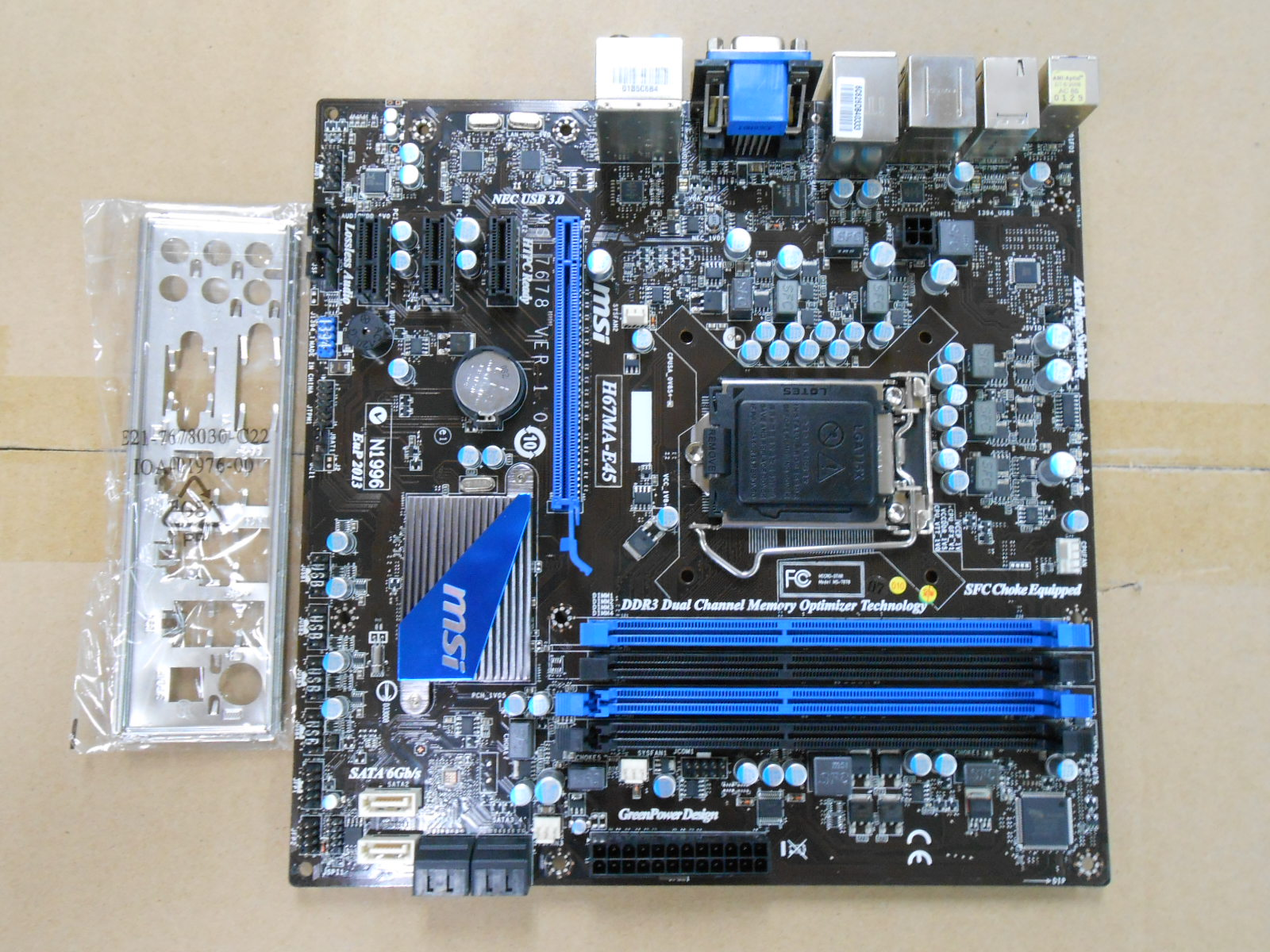 original motherboard H67MA-E45(B3) LGA 1155 DDR3 32GB for i3 i5 i7 H67MA-E45 H67 Desktop motherborad кварцевые часы nixon sentry chrono black rose gold