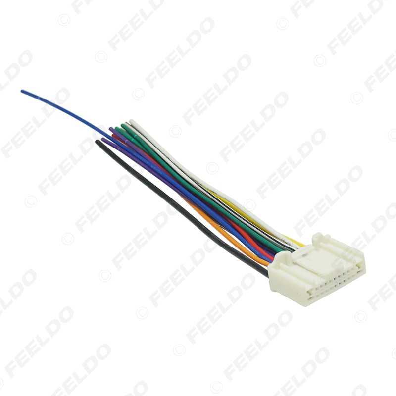 leewa 30pcs car stereo wiring harness adapter plug for subaru legacy  touring/impreza wagon/