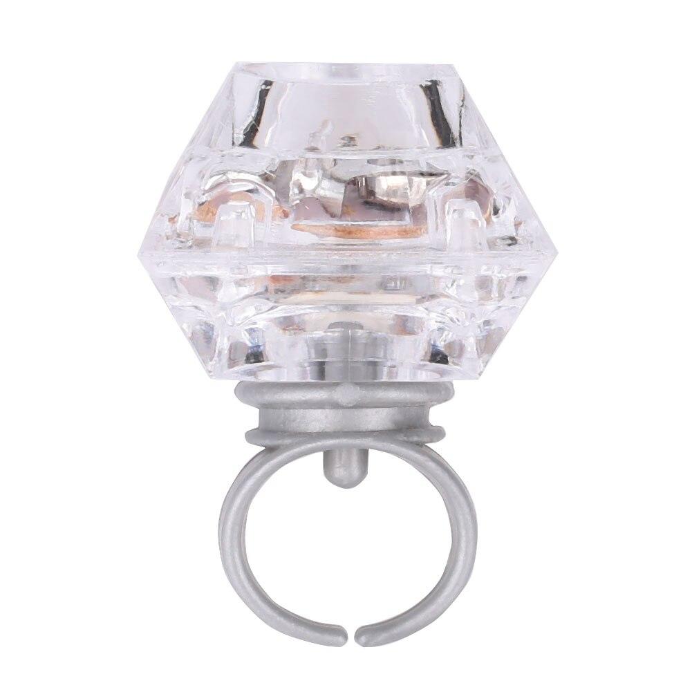 Кольцо с бриллиантами, светящееся кольцо, светящееся кольцо из пластика, многоцветные светящиеся мигающие очки, коллекция маленьких игр для детей