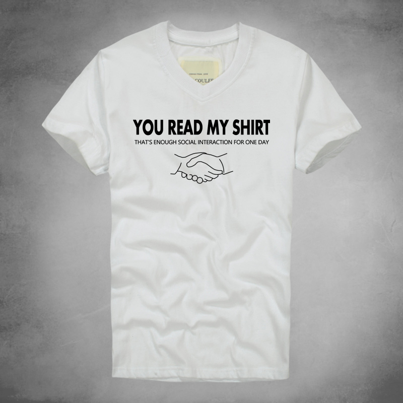 new you read my shirt funny t shirt hipster swag tumblr tees 2016 summer fresh cool buy fresh cool summer