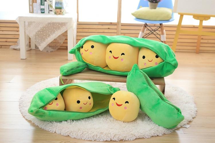25cm/40cm/50cm Kids Baby Pea Plush Doll Toys Children Cute Green Pea Stuffed Plant Doll Pillow Cushions Soft Gift Toy Sa1144 Buy Now Dolls & Stuffed Toys