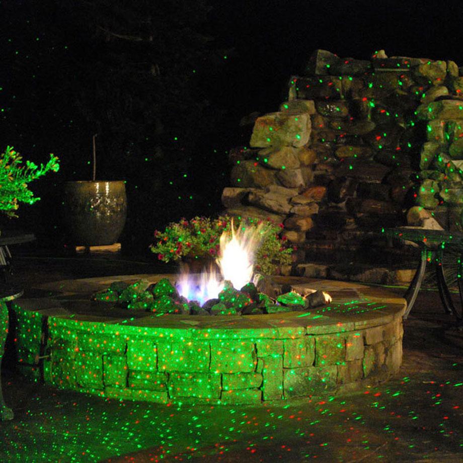 House Decoration Waterproof Christmas Laser Light