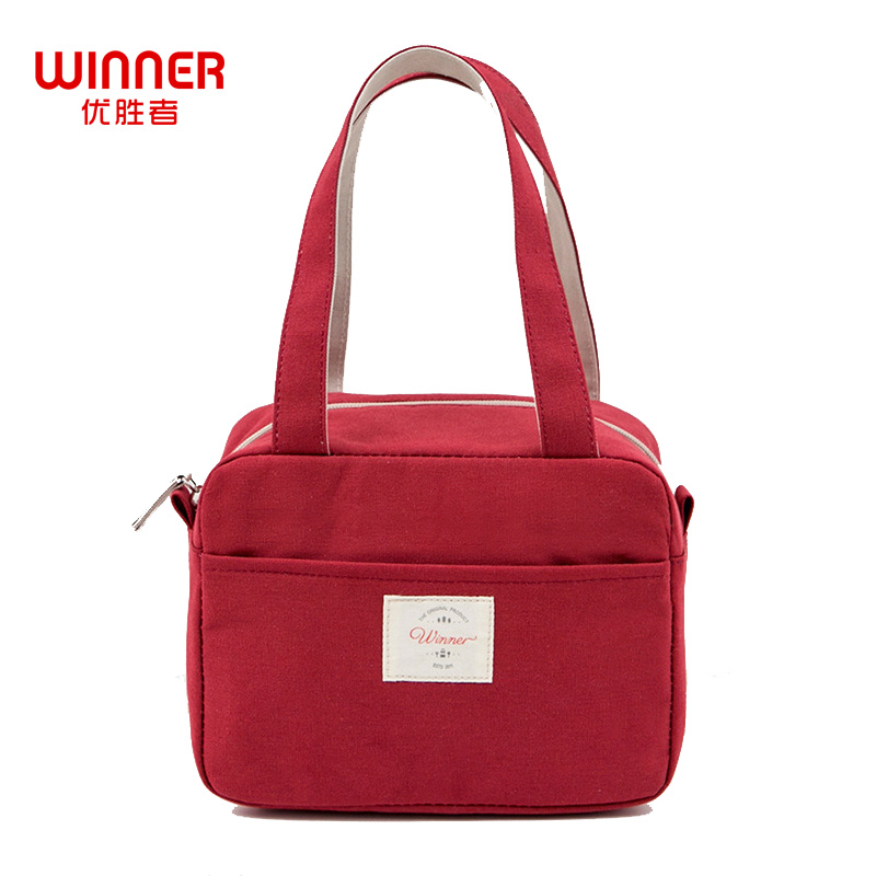 WINNER Insulated Lunch Bag Thermal Fashion Portable Food Picnic Lunch Bags For Women Kids Men Cooler Lunch Box Bag Tote