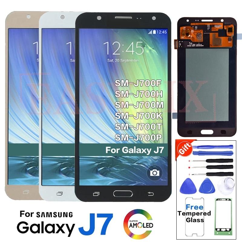 AMOLED For Samsung J7 2015 J700 SM-J700F LCD Display screen replacement for samsung J700H J700M J700T J700P display LCD moduleAMOLED For Samsung J7 2015 J700 SM-J700F LCD Display screen replacement for samsung J700H J700M J700T J700P display LCD module