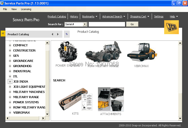 JCB Service Parts Pro 1 18+ Service Manual