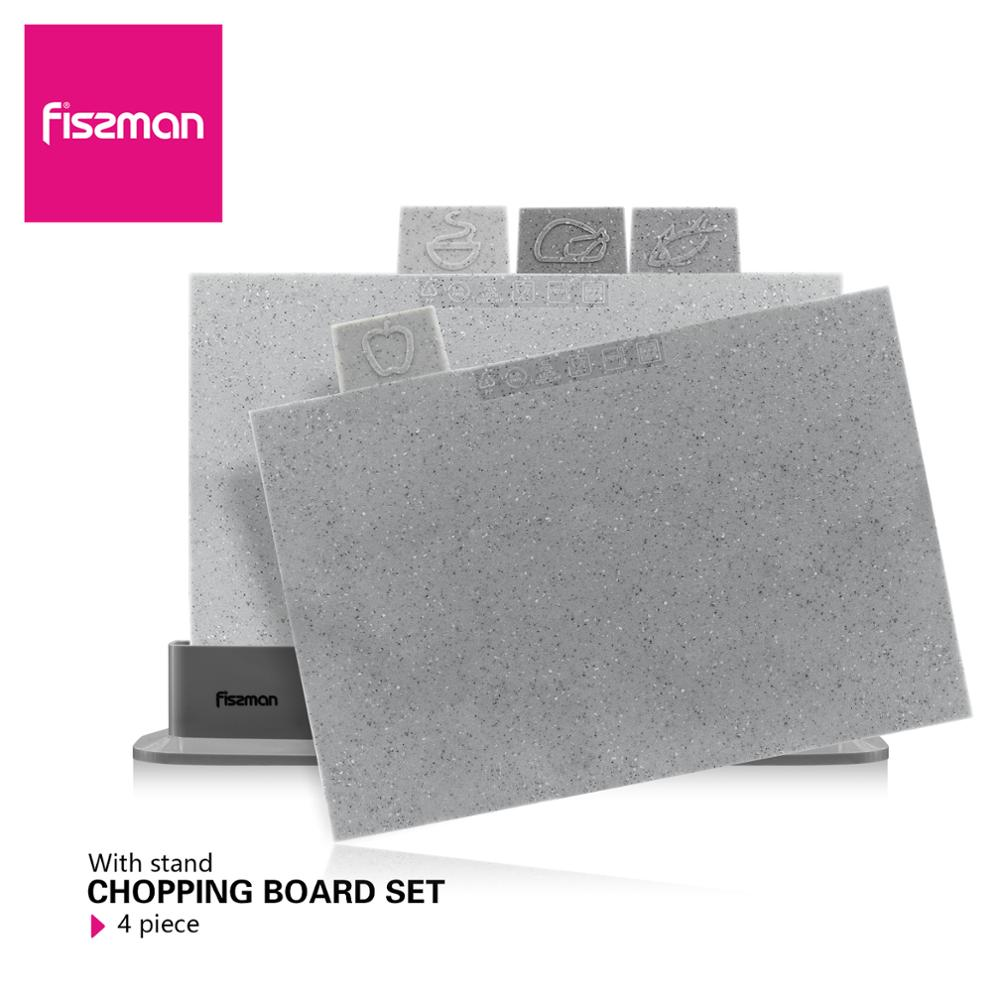Fissman Plastic Cut Chopping Block Non-slip Cutting Board Anti Bacterium Vegitable Chopping Board Hang Hole Food SliceFissman Plastic Cut Chopping Block Non-slip Cutting Board Anti Bacterium Vegitable Chopping Board Hang Hole Food Slice