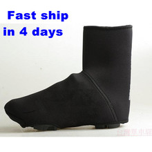 4 Size Warm in Winter Thicken Thermal Bike Bicycle overshoes, Windproof& Waterproof Cycling Shoes Covers Legwarmers Men&Women