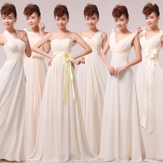 2016 6 styles fashion sexy long blush pink champagne bridesmaid 2016 6 styles fashion sexy long blush pink champagne bridesmaid dresses prom wedding party dress customized junglespirit Image collections