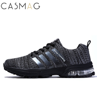 CASMAG Men Air Cushion Running Shoes Outdoor Mesh Lightweight Shoes Jogging Sneakers Athletics Shoes Plus Size