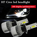 wupp H7 110W 20000LM LED Headlight Conversion Kit Car Beam Bulb Driving Lamp 6000K