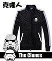 [НЕСКОЛЬКО Акций] Высокое качество Star Wars The Clone Wars Косплей джерси куртка Мужская Топ Quick dry sportsuit бесплатная shippi